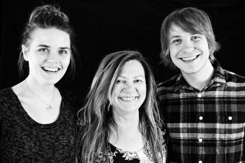 """Mari Boine er en av artistene som deltar på bestillingsverket """"Northern soul"""". Her er hun sammen med Simone Grøtte og Herman Rundberg"""