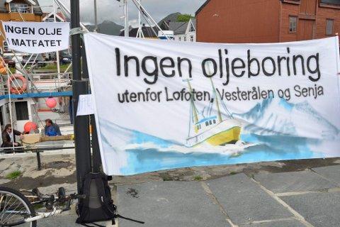 motstand: Flertallet av Lofot-kommunene deler oljemotstandernes syn.foto: magnar johansen