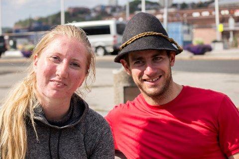 Benedickte Aasen og Peter Blaimschein kjente ikke hverandre før de møttes i Narvik.