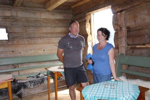 Det gamle storhuset får ein ny vår som overnattingsstad for gardsturistar og gjestar hjå Heidi Vallestad og Sigurd Årskaug. Det må vere litt sjel i husa, seier Heidi Vallestad.