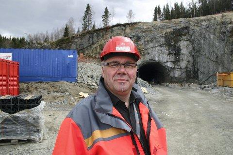 BETALER: Prosjektleder Taale Stensbye.Foto: Rune Bernhus