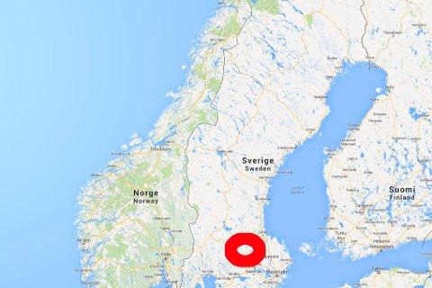 brann i sverige kart Lofotposten   Denne brannen kan du lukte i Nordland brann i sverige kart
