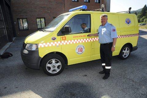 FIKK AVSLAG: Branninspektør Terje Sørensen mener han ble kreftsyk som følge av jobben som røykdykker. I vår fikk han avslag fra Nav på søknaden om yrkesskadeerstatning. Myndighetene krever at han peker på akkurat hvilken brann, eller hvilke branner, som var skadelige. foto: sigbjørn høidalen