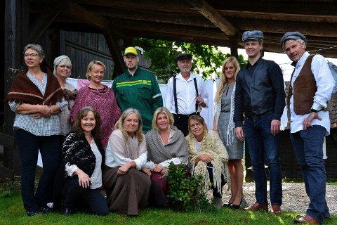 «Gårdsopera og Musikaler» spilles på Gjesvold gård 28. - 29. august og 31. august.