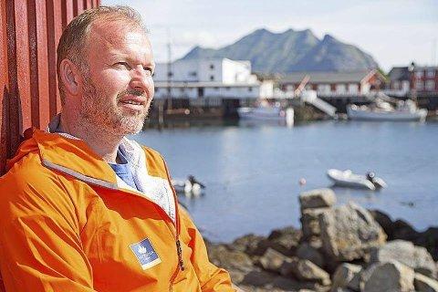 Gründer. Kristian Bøe kom på ideen om å utvikle fjellsykling til turisme og få enda et bein å stå på.