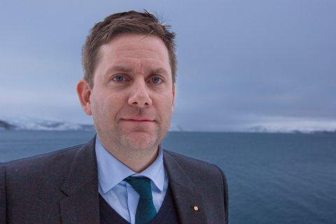 Daniel Skjeldam i Hurtigruten.