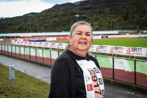 GODT Å VERA TILBAKE: Søndag var Aud Olly Lohne Kittang tilbake på Knarvikmila etter ni års fråvær  -  med nye lunger.