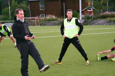 Hovedtrener: Terje Hansen er tilbake på treningsfeltet. Det er Trygve Eriksen fornøyd med.