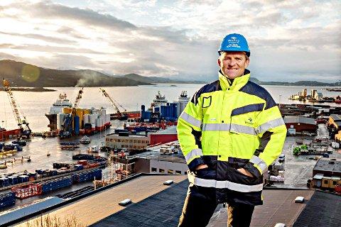 Støtter: Vestbase og Alf Dahl mener ingeniørutdanning i Kristiansund er noe som har vært savnet i flere år, og går nå fullt ut å støtter prosjektet.