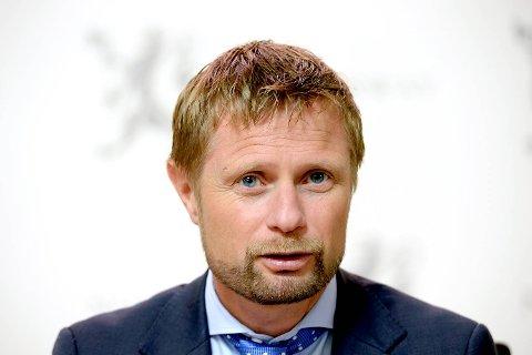 Bent Høie er helse- og omsorgsminister