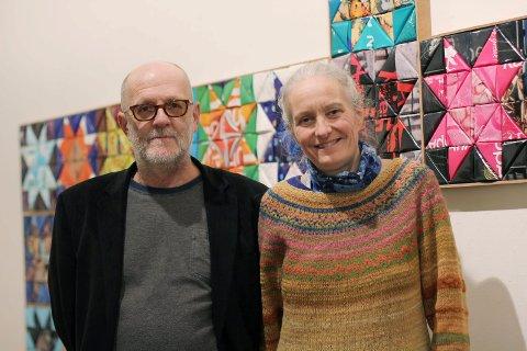 Prisvinnere:  Thor Erdahl og Inger Anne Nyaas fikk kulturprisen for 2013. foto: Silje reistad christensen