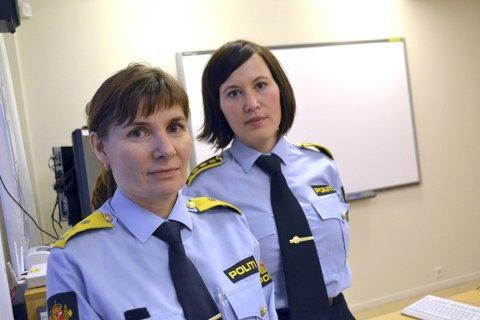 FÅR ROS: Politimester Ellen Katrine Hætta og påtaleleder Laila Søndrol får ros av Statsadvokaten for straffesaksbehandlingen. Her avbildet i en tidligere sak i 2012.