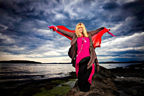 havet: Hanne Krogh, tre tenorer og koret Koriosa skal synge om havet.foto: Tor Lindseth
