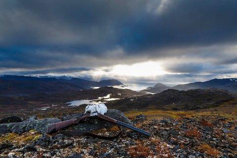 Her ser vi et bilde tatt på Sørøya, ikke Hafjell.