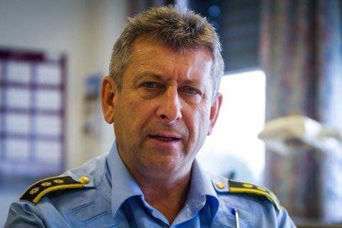 LEGG NED RADØYKONTORET: - Vi vil bruka meir ressursar på ungdom som får problem, seier lensmann Kjell Idar Vangberg.