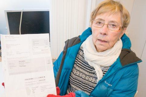 Advarer mot svindel: Eldrerådets leder Aina Hanssen i Porsanger.