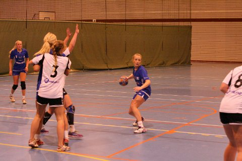 Beholdningen etter helgas serieåpning for damelaget til Brønnøysund var at de var best etter pause mot Rana. Foto: Stian Forland