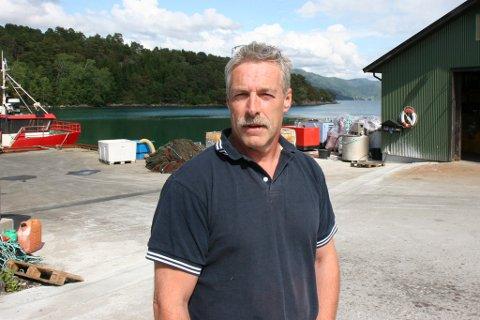 Ingvar Osland ser lysare på framtida til Flokenes fiskefarm etter at Miljødirektoratet i dag sa nei til fjorddeponi.