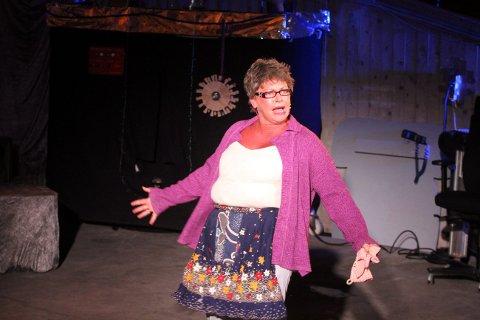 Heidi Bordier var tilbake på scenen etter flere års fravær. Hun imponerer også som tekstforfatter.
