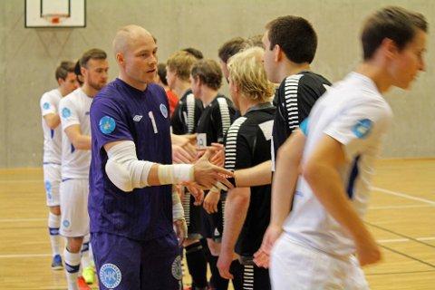 SERIEÅPNING: Vegakameratene møtte Sjarmtrollan i første seriekamp i årets sesong i eliteserien i futsal.