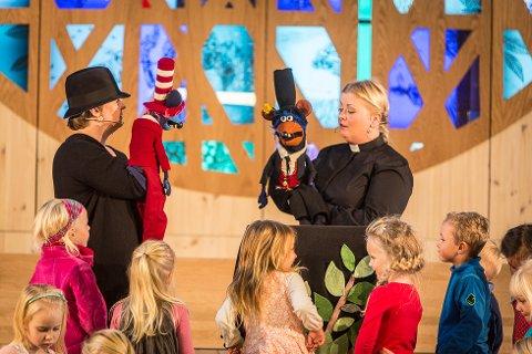 KONSERT: Kyrkja er alt tatt i bruk til teater, no kan det verta årlege julekonsertar.