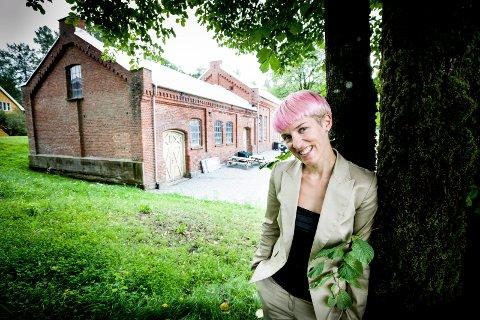 FYRTÅRN: Maria Veie Sandvik skal utvikle Eidsvoll Verk som kulturarena. FOTO: TOM GUSTAVSEN