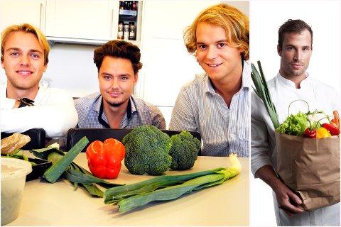 Fra venstre: Lasse Smedsvig, Mats Nyheim Wickmann, Harald Aalvik og innfelt Adam Schive Bjerck. (Arkivfoto)