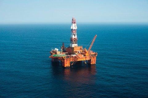 Leteriggen Transocean Arctic, har drevet oljeleting ved Pil-prospektet.
