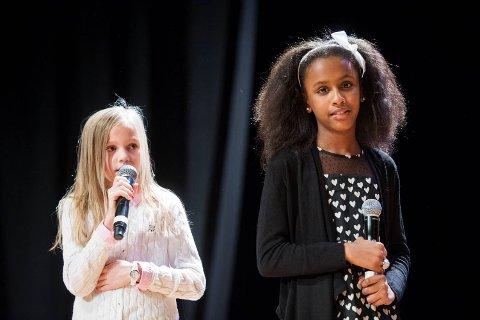 Maria Sandvik-Ebbing og Waad Abd Alla fortalte om møtet de hadde med Malala.