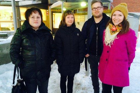 76c1d083 GLADE: Foreldrene Bente Buskum, Kristin Ericsson, Ken Ared Bongo og  Henriette Lille er