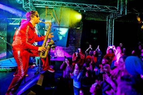 Dette bildet er tatt fra en konsert på Kvarteret i 2013.
