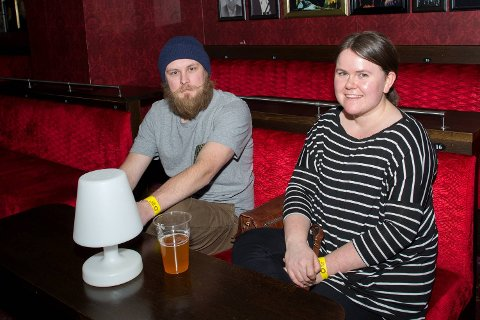 Sebastian Reen og Hannelen Leirvåg har fulgt Datarock i en årrekke.
