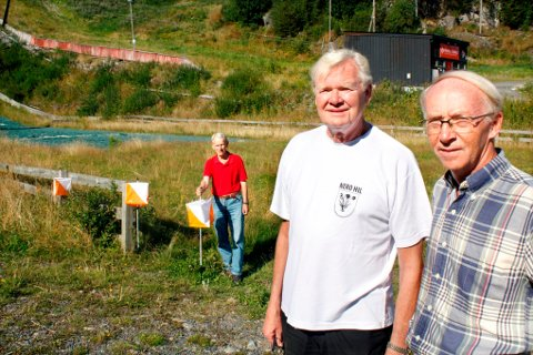 KAN VINNE INKLUDERINGSPRISEN 2014: Alf Stefferud, Odd Wiik og Jan Erik Haug fra Nedre Romerike handicapidrettslag.