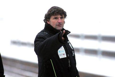 PÅ VENT: Notodden-trener Jan Halvor Halvorsen ønsker fortsatt å hente Stian Parkstad Johansen, men innser at han kanskje må vente til sommeren.
