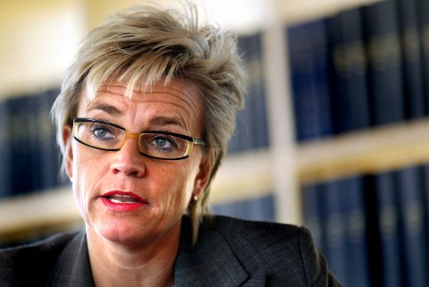 NEKTER STRAFFSKYLD: Advokat Gunhild Lærum er forsvarer for to eller tre av de siktede guttene. Alle fem som er siktet i saken, nekter straffskyld.