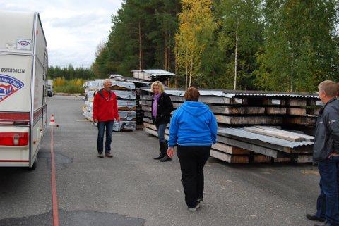 LUKEPARKERING: Hanne Hungerholdt Hatlelid utførte en perfekt lukeparkering.
