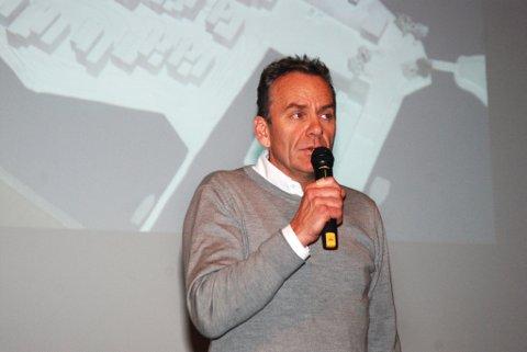 Arne Lindstøl eier 51% av selskapet som står bak utviklingen av Holmenprosjektet.