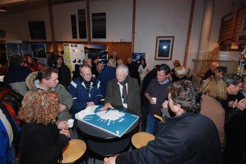 For et år siden ble Holmenprosjektet presentert på et møte i Risørhuset.