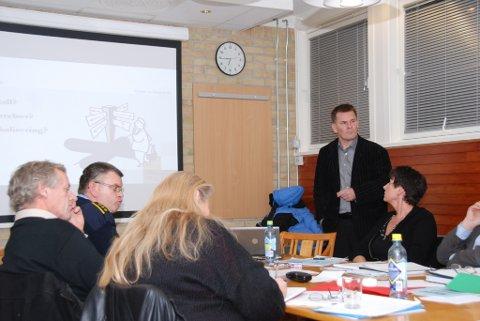 Per Juell Larsen, som har ledet politiets prosjektgruppe, orienterte for en tid tilbake formannskapet i Risør om arbeidet som pågikk.