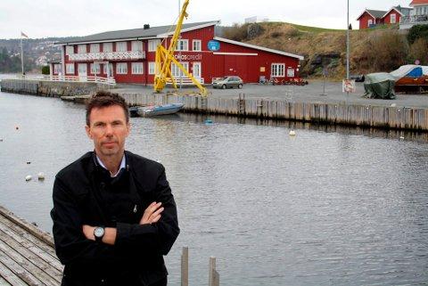 Espen Byrjall er leder av Brevik Båtforening som eier klubbhuset på Banken på Øya.