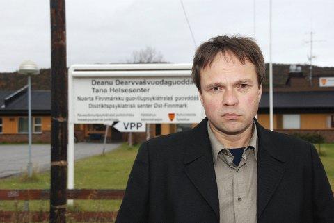 UNDRER:?Ordfører Frank M. Ingilæ stiller spørsmål ved Helse Nords  pengebruk.