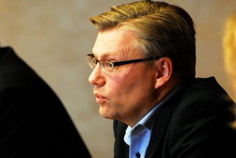 Daglig leder i Byen vår Gjøvik forklarer at handelsstanden i byen vil vise vekk tiggerne.