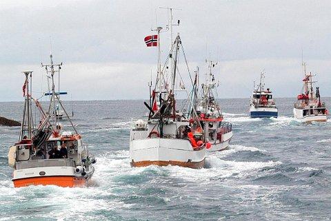 KYSTFLÅTEN: Fiskestoppen i 1989 første til at kystfiskernes hegemoni var over, og ble samtidig et farvel til den åpne fiskeriallmenningen. Illustrasjonsfoto: Finnmark Dagblad