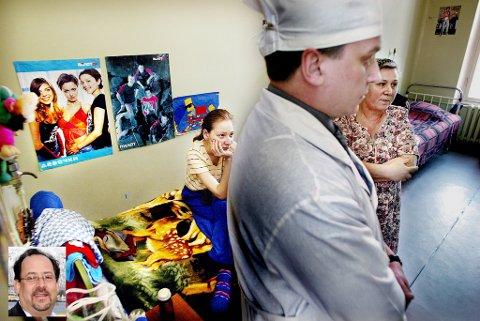 UTBREDT: HIV/AIDS og tuberkulose er fortsatt utbredt i Russland, selv om det har skjedd mye positivt i arbeidet med å bekjempe sykdommene de siste årene. Her fra Arkhangelsk. Innfelt kronikkforfatter Paul Zeitz. Illustrasjonsfoto: Torgrim Rath Olsen