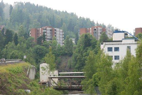 Beskjedent: Utglidningen ved Hunton var ifølge NVE overflatisk, men de ber kommunen sjekke fjelldybden. Foto: Linda Haugen