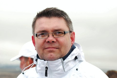 HELT KLAR: - Vi har nulltoleranse for kjøring utenom fastsatte tider, sier Per Christian Venstad Bjerlin i MX-klubben.ARKIVFOTO