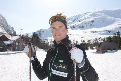 I FINT DRIV. Torgeir Skare Thygesen fortsetter årets sesong slik han avsluttet den forrige, hvor han blant annet vant Haukelirennet.