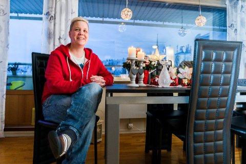 FORNØYD: Lene er svært fornøyd med dommen i Nedre Romerike tingrett. Hun vant fram mot Skedsmo kommune. Foto: Vidar Sandnes