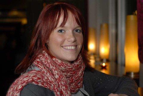 """Anette Stokke fra Bergen danser på TV Norge i denne ukes """"Dansefeber""""-program."""
