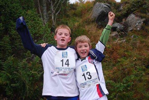 Henrik Geitle (9) Martin Linde (8) har fortsatt krefter igjen.